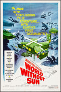 "Movie Posters:Documentary, World without Sun (Columbia, 1964). One Sheet (27"" X 41""). Documentary.. ..."
