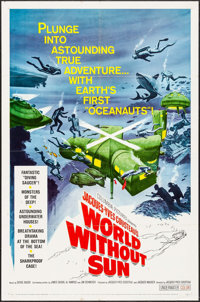 """World without Sun (Columbia, 1964). One Sheet (27"""" X 41""""). Documentary"""