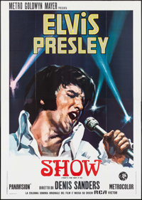 "That's the Way It Is (MGM, 1971). Italian 4 - Fogli (55"" X 77.5""). Elvis Presley"