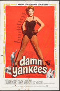 "Movie Posters:Musical, Damn Yankees! (Warner Brothers, 1958). One Sheet (27"" X 41"").Musical.. ..."
