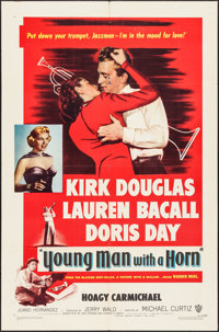 """Young Man with a Horn (Warner Brothers, 1950). One Sheet (27"""" X 41""""). Drama"""