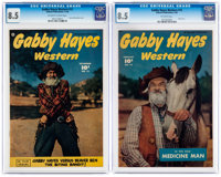 Gabby Hayes Western #12 and 15 CGC-Graded Group (Fawcett Publications, 1949-50) CGC VF+ 8.5.... (Total: 2 Comic Books)