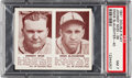 Baseball Cards:Singles (1940-1949), 1941 Double Play Mize/Slaughter #39/40 PSA NM 7. ...