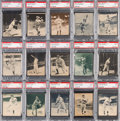 Baseball Cards:Singles (1930-1939), 1934-36 Batter-Up Baseball PSA NM 7 High Numbers Collectio...