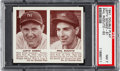 Baseball Cards:Singles (1940-1949), 1941 Double Play Gomez/Rizzuto #61/62 PSA NM 7. ...