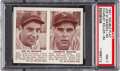Baseball Cards:Singles (1940-1949), 1941 Double Play DiMaggio/Keller #63/64 PSA NM 7. ...