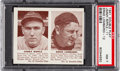 Baseball Cards:Singles (1940-1949), 1941 Double Play Ripple/Lombardi #11/12 PSA NM 7. ...