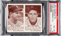 Baseball Cards:Singles (1940-1949), 1941 Double Play Newsom/Greenberg #51/52 PSA NM-MT 8 - One Higher. ...