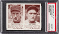 Baseball Cards:Singles (1940-1949), 1941 Double Play Ted Williams/Tabor #57/58 PSA NM-MT 8....