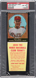 Baseball Cards:Singles (1950-1959), 1958 Hires Root Beer Dave Philley #12 PSA NM-MT+ 8.5 - Pop One,None Higher! ...