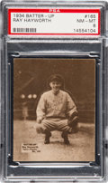 Baseball Cards:Singles (1930-1939), 1934-36 Batter-Up Ray Hayworth #165 PSA NM-MT 8 - Pop One,...