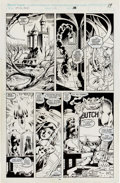 Alan Davis and Paul Neary Excalibur #12 Story Page 15 Original Art (Marvel, 1989 Comic Art