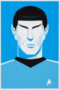 Movie/TV Memorabilia:Original Art, Star Trek - Ty Mattson - Mr. Spock...
