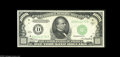 Small Size:Federal Reserve Notes, Fr. 2212-D $1000 1934A Federal Reserve Note. Very Choice Crisp Uncirculated. An attractive piece which is just two serial n...
