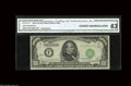 """Small Size:Federal Reserve Notes, Fr. 2212-F $1000 1934A Federal Reserve Note. CGA Choice Uncirculated 63. Another CGA graded """"Florida Find"""" example, this in..."""