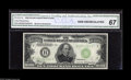 Small Size:Federal Reserve Notes, Fr. 2231-B $10000 1934 Federal Reserve Note. CGA Gem Uncirculated 67. In a world that gambling built, Las Vegas was born in...