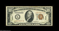 Small Size:World War II Emergency Notes, Fr. 2303* $10 1934A Hawaii Federal Reserve Note. Very Fine-Extremely Fine. A much higher grade example of this rare star th...