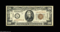 Small Size:World War II Emergency Notes, Fr. 2304* $20 1934 Mule Hawaii Federal Reserve Note. Fine-VeryFine. An extremely rare note in any grade, with the Oakes ca...