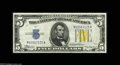 Small Size:World War II Emergency Notes, Fr. 2307 $5 1934A North Africa Silver Certificate. Choice Crisp Uncirculated. Gem paper surfaces and originality, but held ...