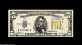 Small Size:World War II Emergency Notes, Fr. 2307* $5 1934A North Africa Silver Certificate. Choice CrispUncirculated. Star North Africa fives are seldom hard to o...