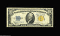 Small Size:World War II Emergency Notes, Fr. 2308 $10 1934 North Africa Silver Certificate. Fine+. Virtuallyas nice as the example offered above, with excellent co...