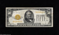 Small Size:Gold Certificates, Fr. 2404 $50 1928 Gold Certificate. Very Fine. Nice, but with a couple of age spots on the portrait....