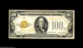 Small Size:Gold Certificates, Fr. 2405 $100 1928 Gold Certificate. Fine. ...