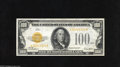 Small Size:Gold Certificates, Fr. 2405* $100 1928 Gold Certificate. Extremely Fine-About Uncirculated. A simply extraordinary note which we are privilege...