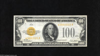 Fr. 2405* $100 1928 Gold Certificate. Extremely Fine-About Uncirculated. A simply extraordinary note which we are privil...
