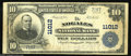 Nogales, AZ - $10 1902 Plain Back Fr. 632 The Nogales NB Ch. # 11012 A very scarce bank in what has become one of the m...