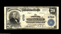 Phoenix, AZ - $20 1902 Plain Back Fr. 654 The Phoenix NB Ch. # 4729 While hardly rare, large notes from this state have...