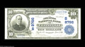National Bank Notes:Arkansas, Fayetteville, AR - $10 1902 Plain Back Fr. 626 The Arkansas NB Ch. # (S)8786 A very high grade example from a bank whic...