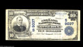 National Bank Notes:Arkansas, Little Rock, AR - $10 1902 Plain Back Fr. 600 The England NB Ch. # 9037 This large size only issuer failed in 1926 aft...