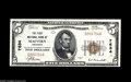 National Bank Notes:Arkansas, Malvern, AR - $5 1929 Ty. 1 The First NB Ch. # 7634 A gorgeous example which is head and shoulders above any previously...