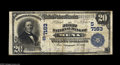 National Bank Notes:Arkansas, Mena, AR - $20 1902 Plain Back Fr. 650 The First NB Ch. # (S)7163 A very scarce bank which issued large notes only. The...