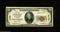 National Bank Notes:Arkansas, Newport, AR - $20 1929 Ty. 1 The First NB Ch. # 6758 This is an unusual bank which is far more common in small size tha...