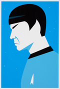 Movie/TV Memorabilia:Original Art, Star Trek - Ty Mattson - Mr Spock II...