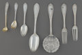 Silver Flatware, American:John Polhemus, A Thirty Piece John Polhamus for Tiffany & Co. IonicPattern Silver Flatware Service, New York City, circa 1860...(Total: 30 Items)