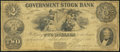 Obsoletes By State:Michigan, Ann Arbor, MI - Government Stock Bank $2 July 1, 1851. ...