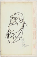 Bob Taylor - Caricature (c. 1975) Comic Art