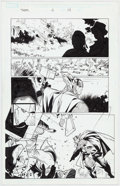 Original Comic Art:Panel Pages, Oliver Coipel and Mark Morales The Mighty Thor #4 Story Page14 Original Art (Marvel Comics;...