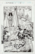 Original Comic Art:Panel Pages, John Byrne and Tom Palmer X-Men the Hidden Years #2 StoryPage 13 (Marvel Comics, 2000)....