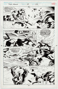 Original Comic Art:Panel Pages, Tom Grindberg and John Nyberg Thor Annual #18 Story Page 23(Marvel Comics, 1993)....