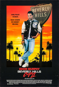 "Beverly Hills Cop II & Others Lot (Paramount, 1987). One Sheets (3) (27"" X 41"", 27"" X 40"")..."