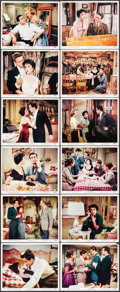 """Movie Posters:Musical, Rhapsody (MGM, 1954). Color Photo Set of 12 (8"""" X 10""""). Musical.. ... (Total: 12 Items)"""