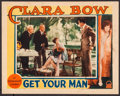 "Movie Posters:Romance, Get Your Man (Paramount, 1927). Lobby Card (11"" X 14""). Romance....."