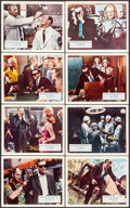 """Movie Posters:Science Fiction, X - The Man with the X-Ray Eyes (American International, 1963).British Front of House Color Photo Set of 8 (8"""" X 10""""). Sci...(Total: 8 Items)"""