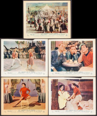 """An American in Paris (MGM, 1951). British Front of House Color Photos (5) (8"""" X 10""""). Musical. ... (Total: 5 I..."""