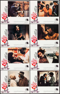 "Super Fly & Other Lot (Warner Brothers, 1972). Lobby Card Set of 8 (11"" X 14""), Mini Lobby Card (8&quo..."