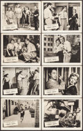"Movie Posters:Science Fiction, Target Earth (Allied Artists, 1954). British Front of House PhotoSet of 8 (8"" X 10""). Science Fiction.. ... (Total: 8 Items)"